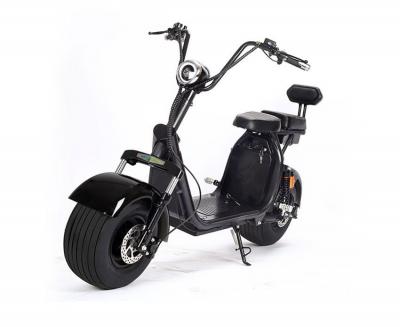 Электроскутер двухместный Caigiees Harley MAX (2000w 60v 20Ah Li-ion)