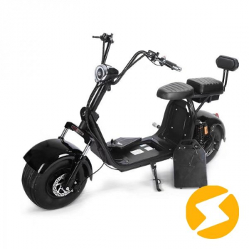 Электроскутер двухместный Fat Scooter City Coco Harley Pro 2 H8PX (1200w 60v 20Ah)