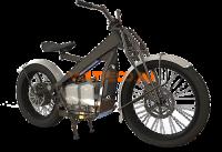 Электрочоппер E-motions Electronbikes Bobber 5kw