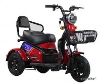 Трехколесный двухместный электроскутер (трицикл) E-trike Donny