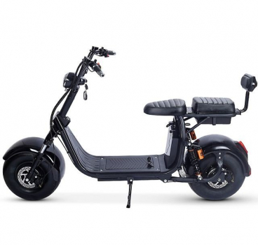 Электроскутер двухместный  Fat-Scooter City Coco x7 Double Battery 1500w (двойная батарея 60V/20Ah)
