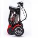 Складной двухместный 4-х колесный электроскутер (электромобиль, гольфкар) GreenCamel Colt 500 (Li-ion 36V 10Ah 2x250w)