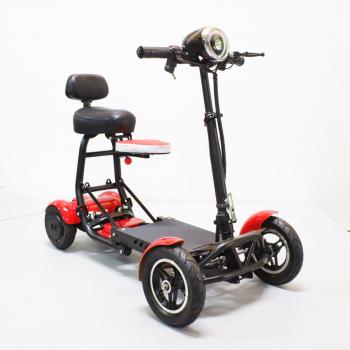 Складной двухместный 4-х колесный электроскутер (электромобиль, гольфкар) GreenCamel Colt 510 (Li-ion 36V 10Ah 2x250w)