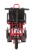 Трехколесный складной электроскутер трицикл GreenCamel Colt V350 (48V 10,4Ah 350W)