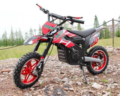 Электромотоцикл детский GreenCamel Питбайк DB100 (24V 500W R14 быстросъемная батарея)