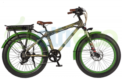 Электровелосипед (Фэтбайк) Nirvana Bamboo (бамбуковая рама)
