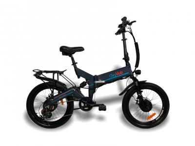 Электровелосипед складной двухмоторный OxyVolt Fighter Double 2 (700w) версия 2021 года