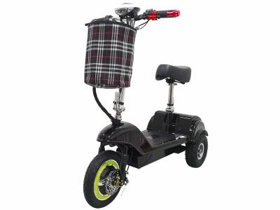 Трехколесный электроскутер трицикл Partner SF 8 350w 48v