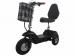Трехколесный электроскутер трицикл Partner SF 8 Comfort 500w 48v (со спинкой)