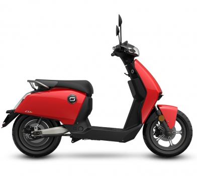 Электроскутер классический Super Soco CUX - Scooter (2000w 60v 30Ah)