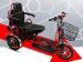 Трехколесный двухместный электроскутер трицикл Trion Transporter Dual Plus (1000w 48v Li-Ion 30Ah)