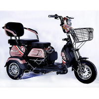 Трехколесный электроскутер E-Trike Transformer Pro 600w 48v 20Ah трехместный